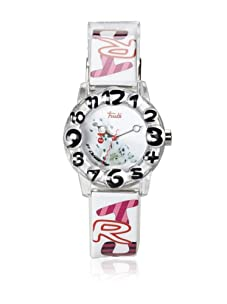 Trudi Kid's Dalmatian Watch, White/Pink