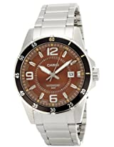 Casio Enticer Analog Brown Dial Men's Watch - MTP-1291D-5AVDF (A510)