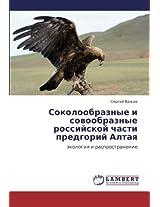 Sokoloobraznye I Sovoobraznye Rossiyskoy Chasti Predgoriy Altaya