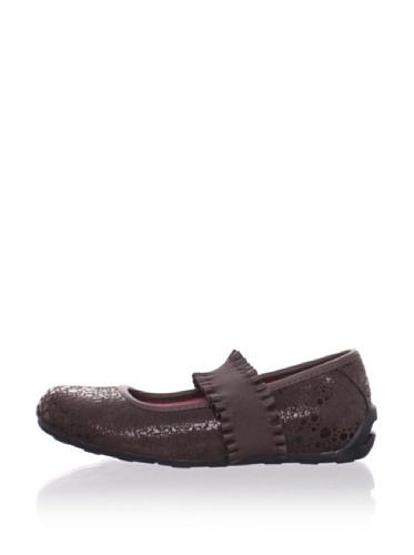 umi Kid's Tulanne Ballet Flat (Toddler/Little Kid) (Cocoa)