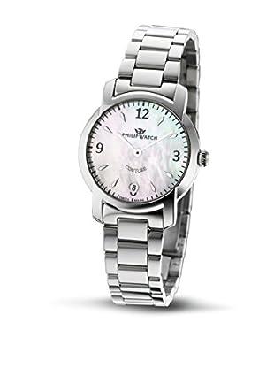 Philip Watch Quarzuhr Couture silberfarben 32  mm