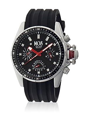 Mos Reloj con movimiento cuarzo japonés Mossm102 Negro 45  mm