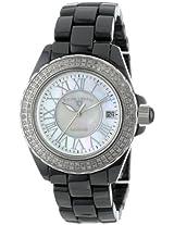 Swiss Legend Watches, Women's Karamica Diamond White Mother of Pearl, Model 20051-WBKWSR