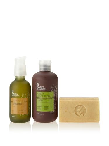 Pangea Organics Lemongrass Body Care Set