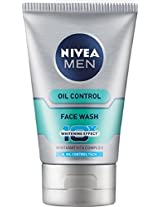 Nivea Men Oil Control Face Wash (10X whitening), 100ml with Off of RS 25/-