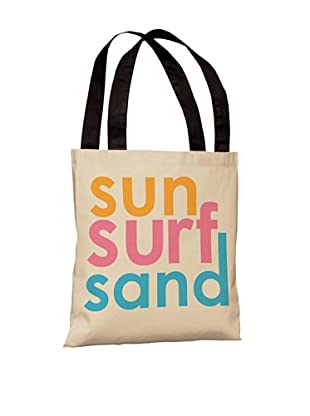 One Bella Casa Sun Surf Sand Beach Tote