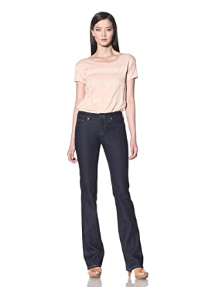 Henry & Belle Women's Signature Bootcut Jean with Flap Pockets (Clean Dark)