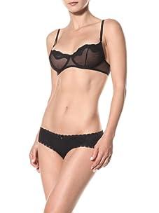 Cosabella Women's Ebe Balconette Bra (Black)