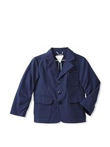 kicokids Boy's Classic 3-Button College Blazer (Indigo)