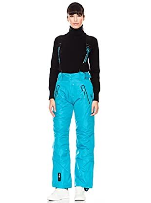 Geographical Norway/ Anapurna Pantalón de Esquí Xobalt Lady (turquesa / negro)