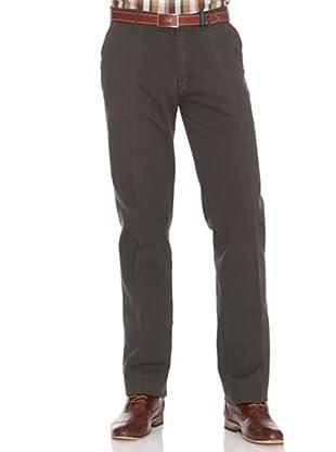 PEDRO DEL HIERRO Pantalón Chino (Verde Oscuro)