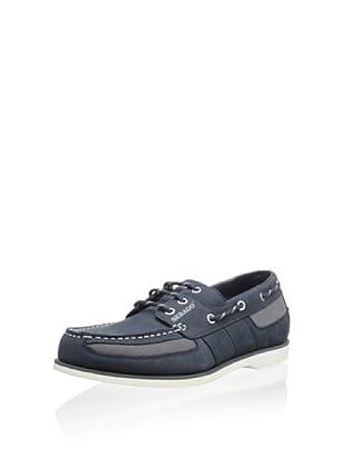 Sebago Men's Crest Vent Boat Shoe (Blue)