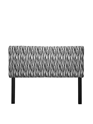 Sole Designs Upholstered Miami Headboard (Black/White)