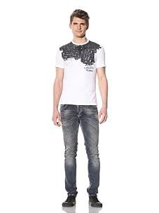 Just Cavalli Men's Rebel T-Shirt (White)