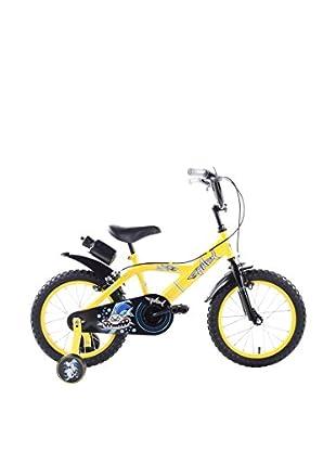 Schiano Cicli Bicicleta 16 Shark 01V. Amarillo