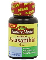 Nature Made Astaxanthin 4 Mg, 60 Count