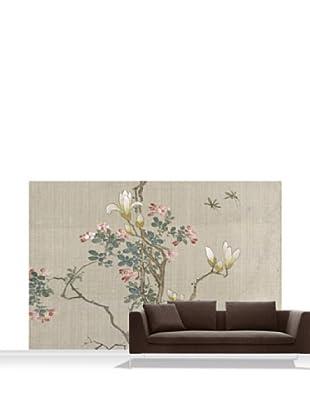 Victoria and Albert Museum Flowering Shrub and Mayflies Mural, Standard, 12' x 8'