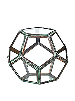 Sage & Co. Small Glass Geodesic Terrarium