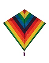 In The Breeze Rainbow Stripe Diamond Kite, 30""