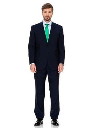 Cortefiel Klassischer Anzug (Dunkelblau)