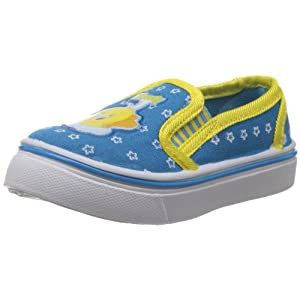 Tweety Girls TW Cloud Canvas Cyan Blue Canvas Boat Shoes - 1 - 4Years - 5-C UK