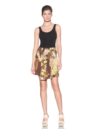 VPL Women's Twin Flap Skirt (Yellow)
