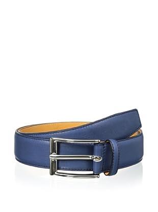 Leone Braconi Men's Sauvage Bullskin Belt (Denim)