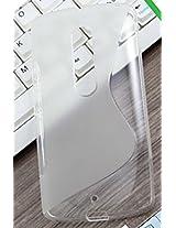 ESI Half Transparent S Line Soft TPU Gel Case Cover Skin For Motorola Moto X Play