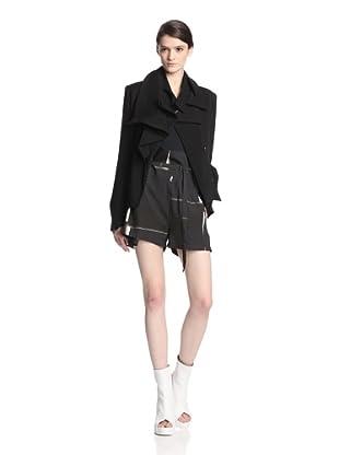 Ann Demeulemeester Women's Wovi Jacket (Black)