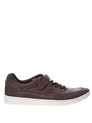 Springfield Zapatilla Velcro (marrón oscuro)