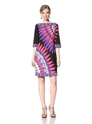 Donna Morgan Women's Shift Dress (Persian Red)