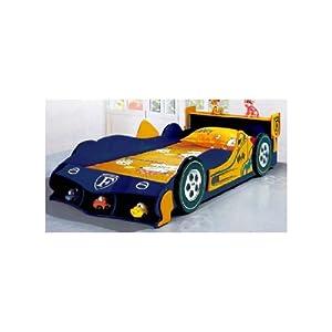 Mebelkart Blue Ferrari Car Bed