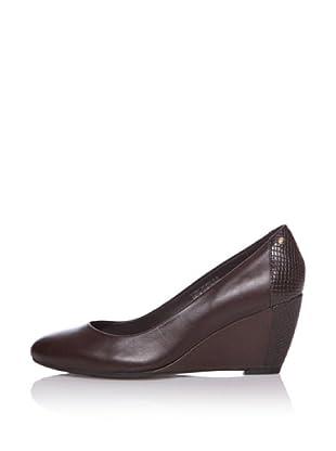 Rockport Zapatos de Salón Plataforma Nelsina (Chocolate)