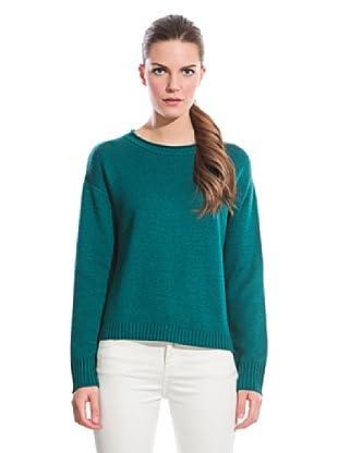 Cortefiel Jersey Con Pañuelo (Verde)