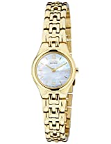 Citizen Eco-Drive Analog Mother of Pearl Dial Women's Watch EW9832-55D