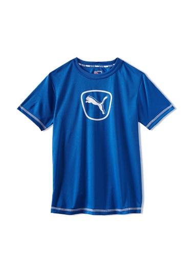Puma Boys 8-20 Sport Tee (Olympian Blue)