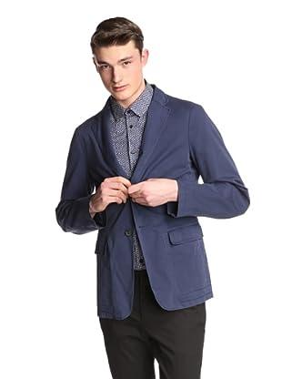 Jil Sander Men's Alida Deconstructed Single Jacket (French Blue)