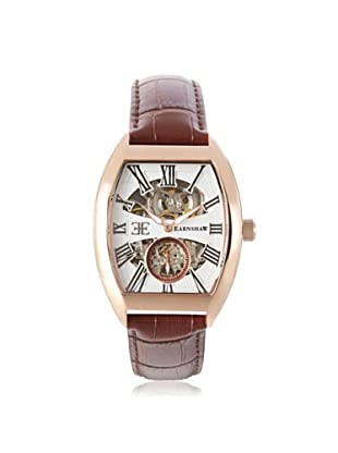 Earnshaw Men's 8015-04 Holborn Brown/White Stainless Steel Watch