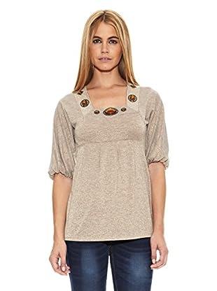 Barbarella Camiseta Joanie (Beige)