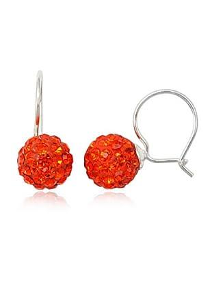 Fashion Victime Orecchini chiusura a Monachella arancione giacinto