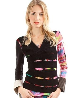 Custo Camiseta Leik Sombras (Negro)