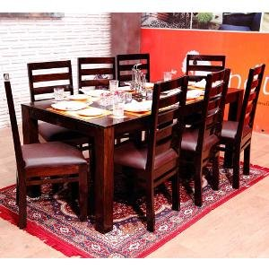 Induscraft 8 Seater Dining Table Set