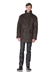 Rainforest Men's Stand Collar Parka (Fir)