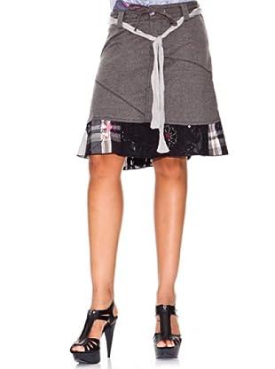 Desigual Falda Activa (gris vigore)