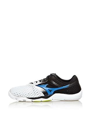 Mizuno Sneakers Minimalistas Wave EVO Cursoris (Bianco/Blu/Antracite)