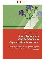 Contribution Des Reboisements a la Sequestration de Carbone (Omn.Univ.Europ.)