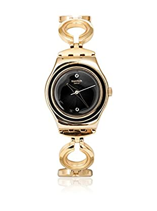 Swatch Quarzuhr Woman BLACK HAT YSG130G 25.0 mm