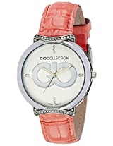 Gio Collection Analog White Dial Women's Watch - G0051-03