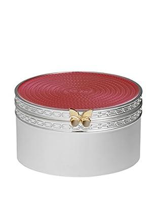 Vera Wang Wedgwood Treasures with Love Pink Butterfly Treasure Box