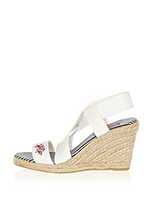 US Polo Assn Wedges Bella (Weiß)